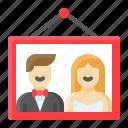 ceremony, love, marriage, photo, picture, romance, wedding icon
