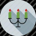 birthday, candles, celebration, church, decoration, flame, light icon