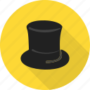 birthday, christmas, color, hat, head, party, red icon