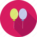 balloon, balloons, birthday, celebration, colorful, happy, party icon