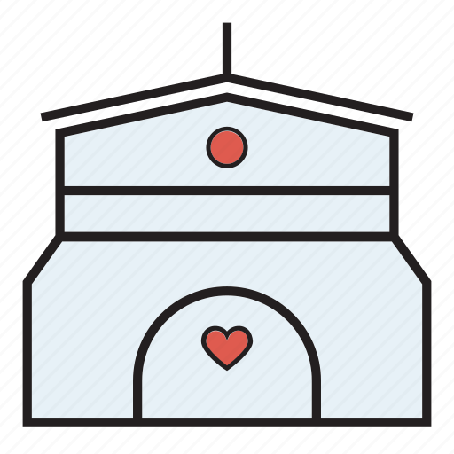 ceremony, church, wedding icon