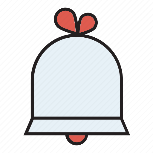 bell, bells, chime, church, day, engagement, wedding icon