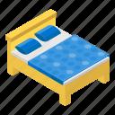 bedchamber, bedroom, boudoir, dormitory, room interior, sleeping room icon
