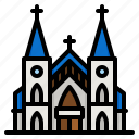 church, wedding, christianity, architecture, building