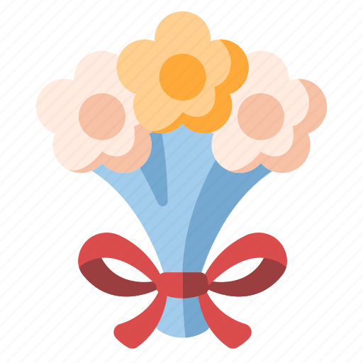 Bouquet, celebration, flower, marriage, romance, tradition, wedding icon - Download on Iconfinder