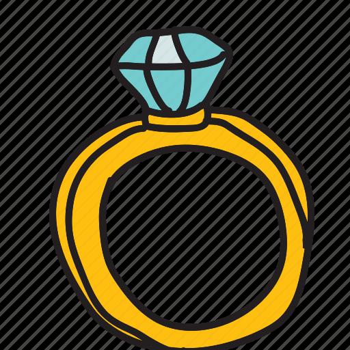 celebration, diamond, engagement, marriage, ring, wedding icon