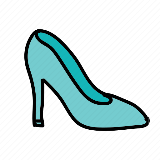 pumps, shoes, wedding, woman icon