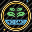 gmo, ingredients, no gmo, non gmo, non gmo ingredients icon