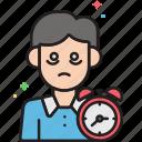 disorders, fatigue, insomnia, insomniac, sleep, sleep disorder, sleepy icon