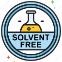 free, solvent, solvent free icon