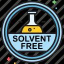 solvent, solvent free icon