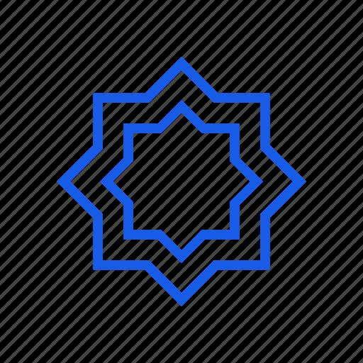islam, muslim, star icon