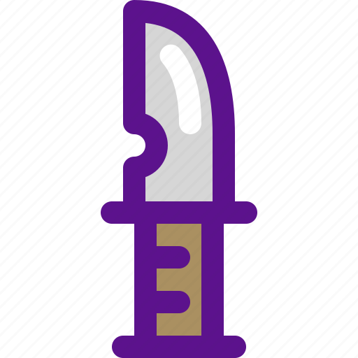 cowboy, desert, india, knife icon