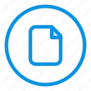 basic, document, file, ui