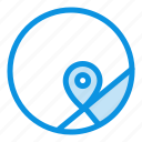 basic, location, map icon