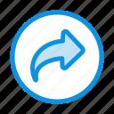 arrow, basic, right, ui icon