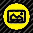basic, image, photo, ui icon
