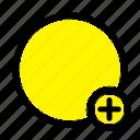 basic, plus, sign, ui icon