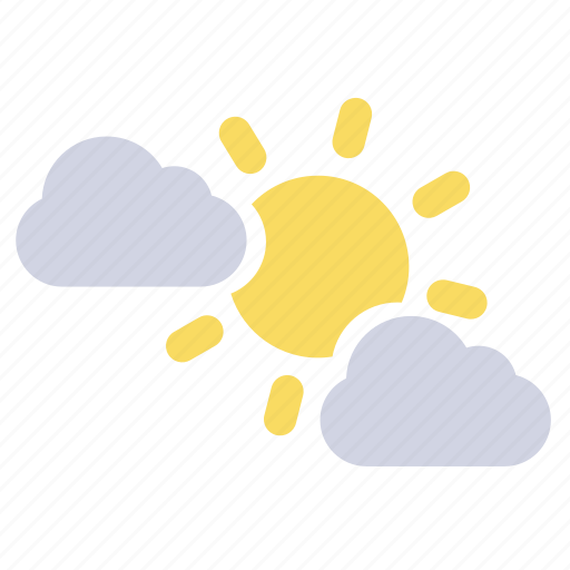 partly cloudy, partly sunny, weather forecast, wheater icon