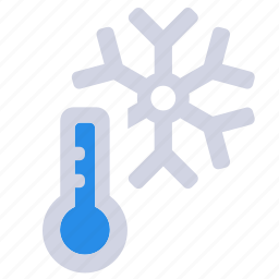cold temperature, cold weather, weather forecast, wheater, winter icon