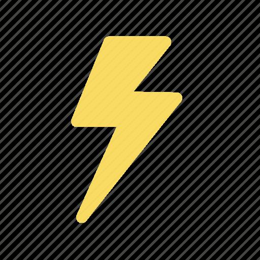 electricity, lightning, thunder, thunderbolt, weather forecast, wheater icon