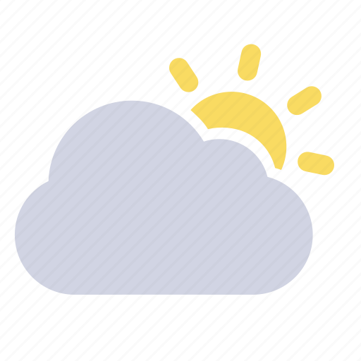 mostly cloudy, mostly sunny, weather forecast, wheater icon