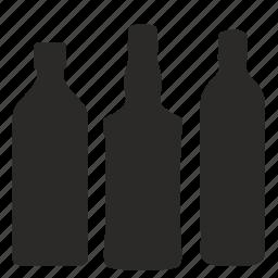 alcohol, bottles, whiskey, whisky icon