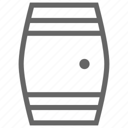 barrel, cask, distillery, ios, whisky icon