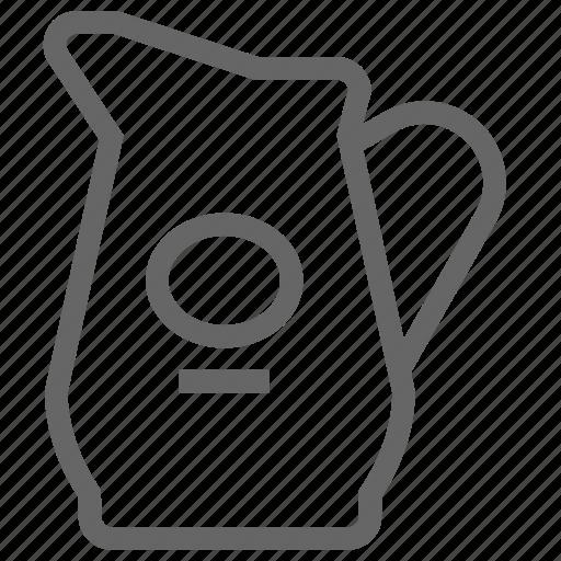 distillery, ios, jug, water, whisky icon