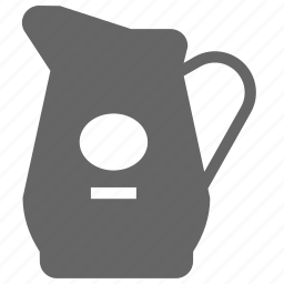 distillery, filled, ios, jug, water, whisky icon