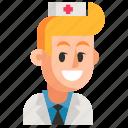 avatar, job, man, nurse, profession, user, work icon