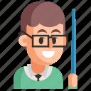 avatar, job, man, profession, teacher, user, work