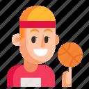 athlete, avatar, job, man, profession, user, work