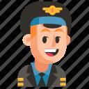 avatar, job, man, pilot, profession, user, work