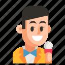 avatar, job, man, profession, showman, user, work
