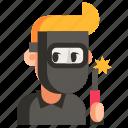 avatar, job, man, profession, user, welder, work