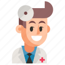 avatar, doctor, job, man, profession, user, work