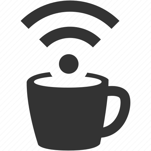 coffee shop internet, coffee shop wifi, hotspot, public wifi, urban life, wifi, wireless icon
