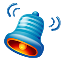 bell, ringtone icon
