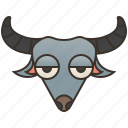 asia, bovidae, buffalo, farmer, water