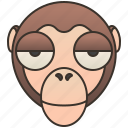 climbing, macaques, monkey, primate, tree icon