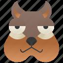 brown, chipmunk, squirrel, striped, trees icon