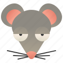 mice, mouse, pest, rat, rodent icon