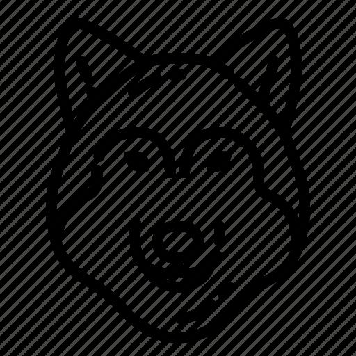 animal, beast, nature, predator, wild, wildlife, wolf icon