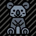 animal, australia, bear, koala