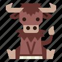 animal, bison, mammal, wildlife