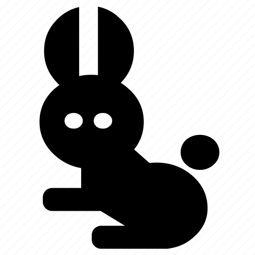 bunny, forest, hare, jungle, nature, rabbit, wild icon