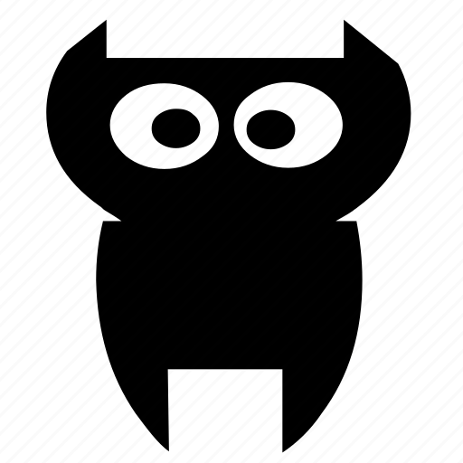 birds, forest, jungle, night, owl, trees, wild icon