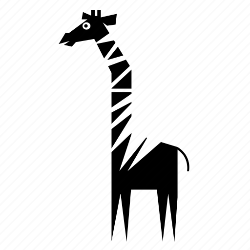 africa, animal, forest, giraffe, jungle, nature, wild icon