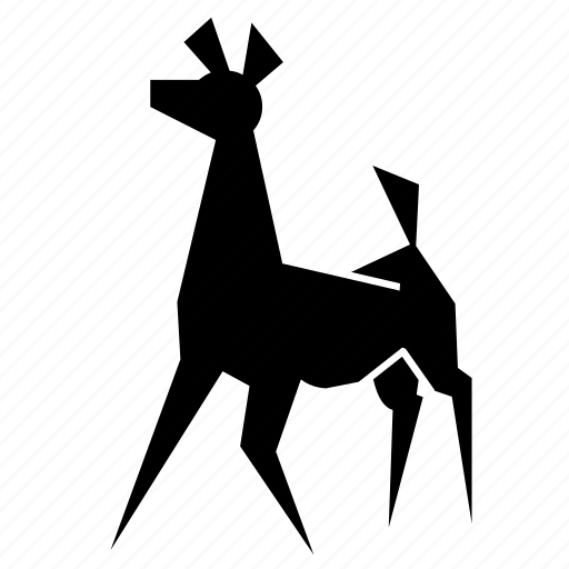 africa, deer, forest, jungle, nature, stag, zoo icon